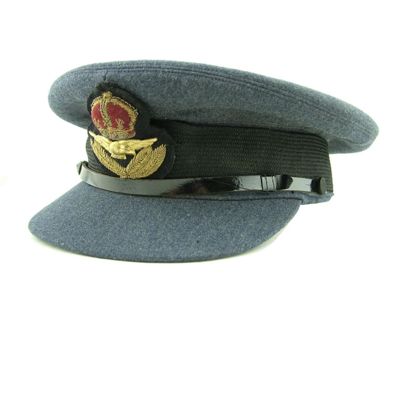 RAF service dress cap - AFC history