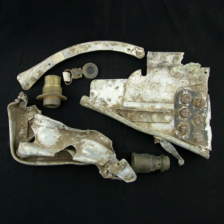 RAF Halifax bomber fragments #3