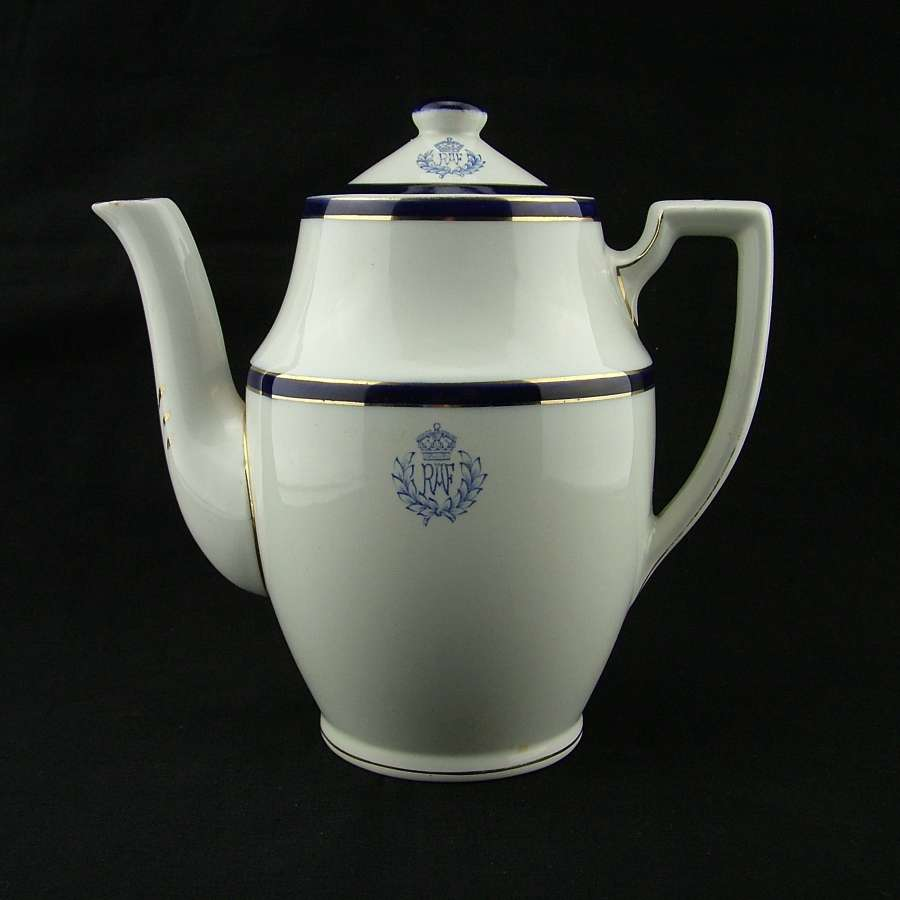 RAF mess coffee pot