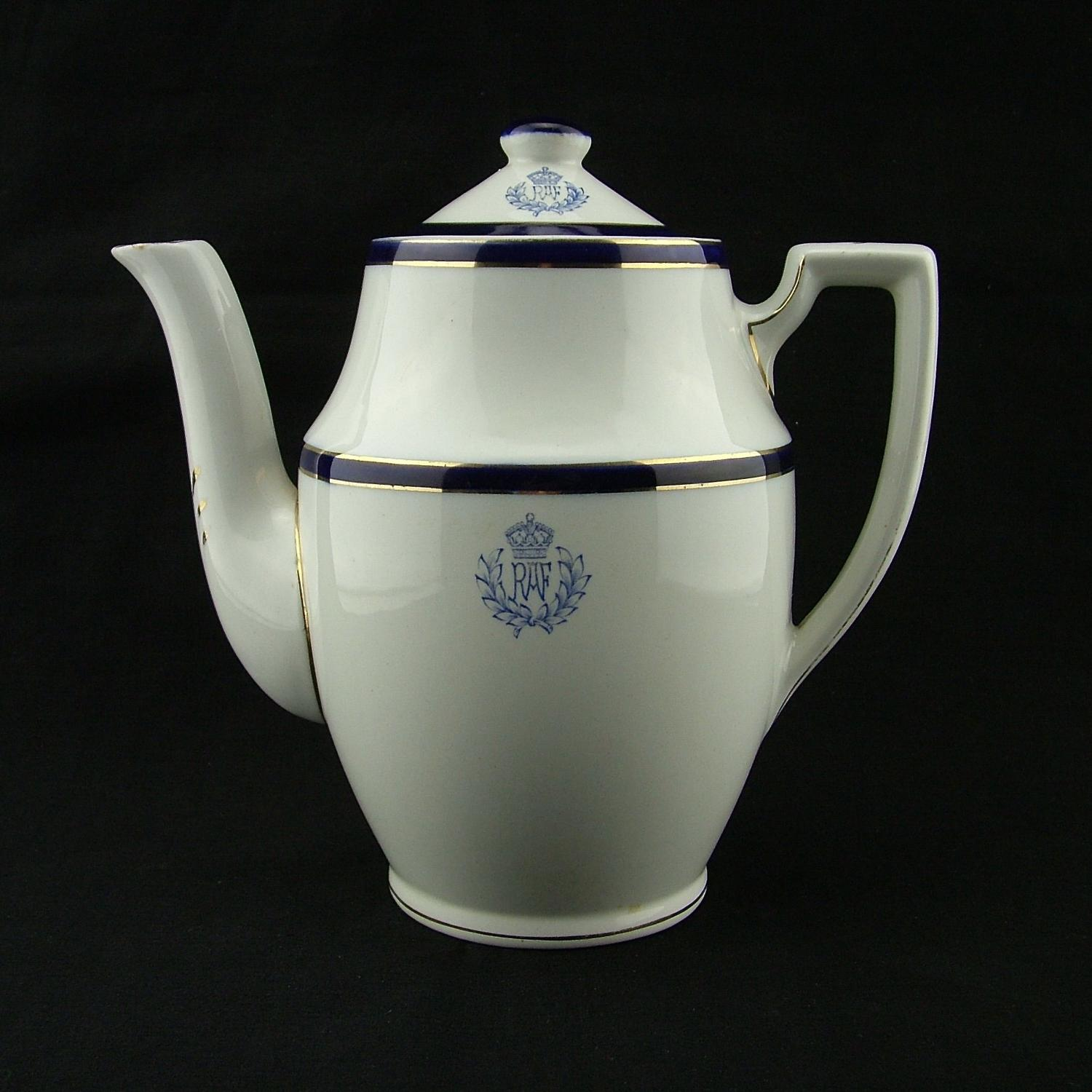 RAF mess coffee pot