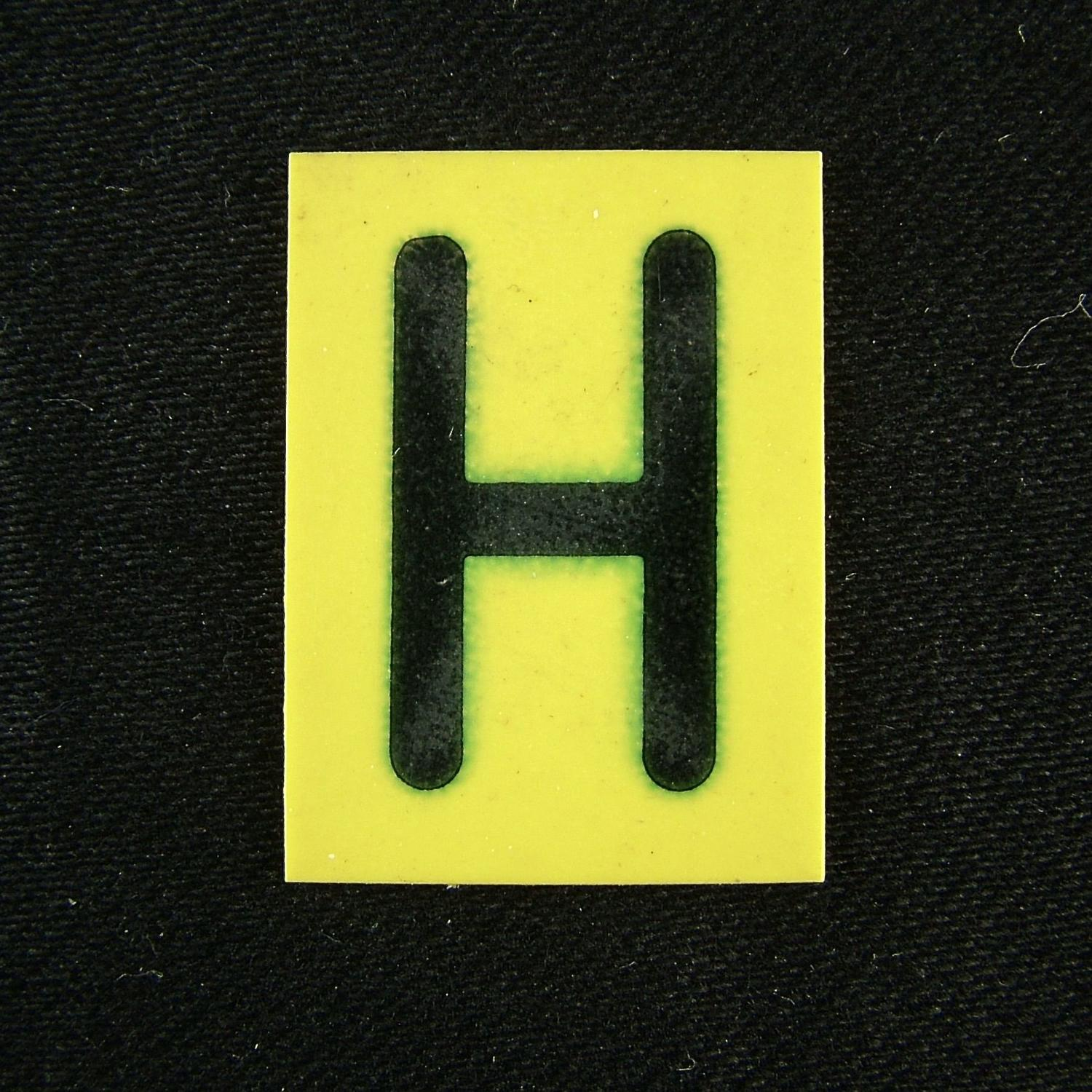 RAF operations room tile 'H'