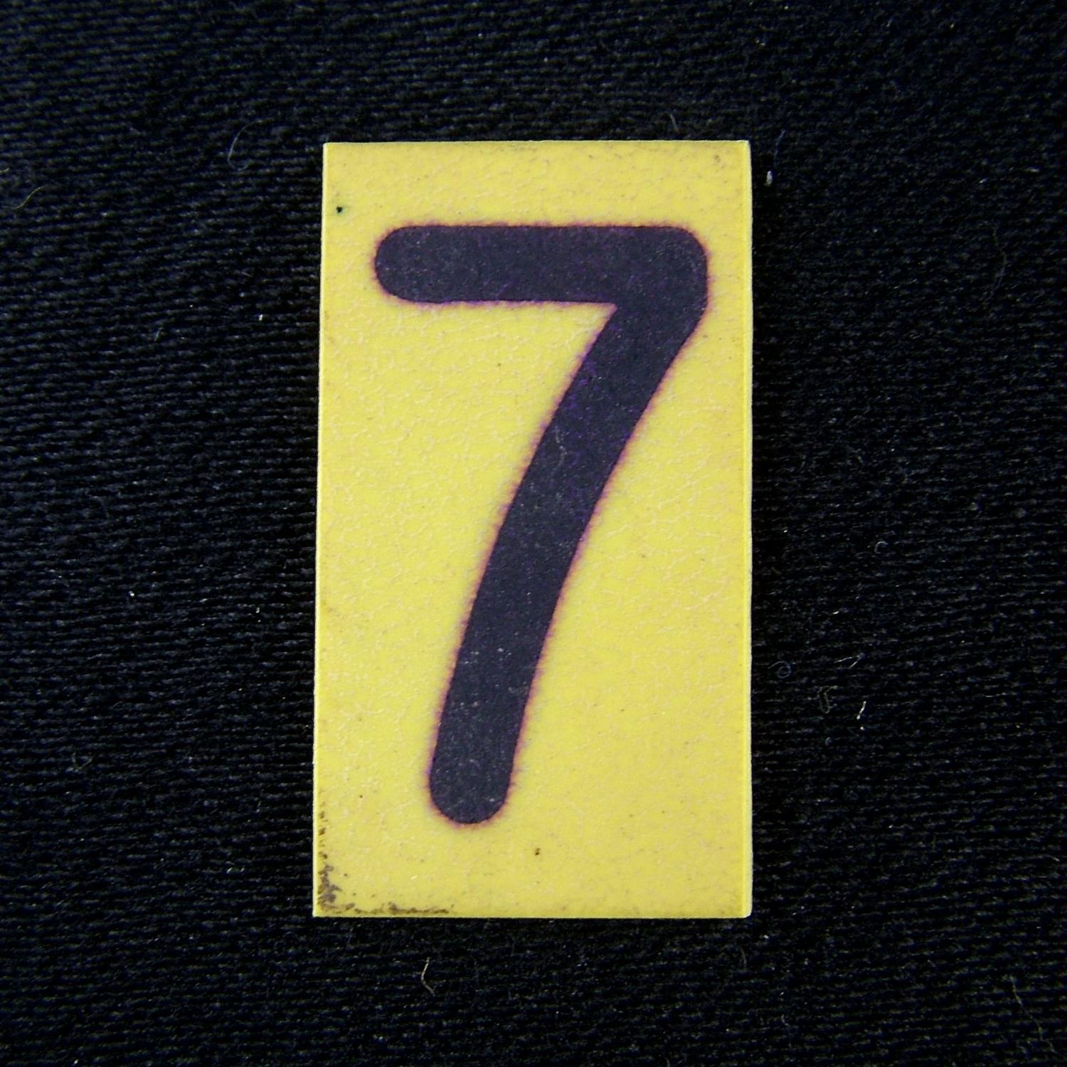 RAF operations room tile '7'