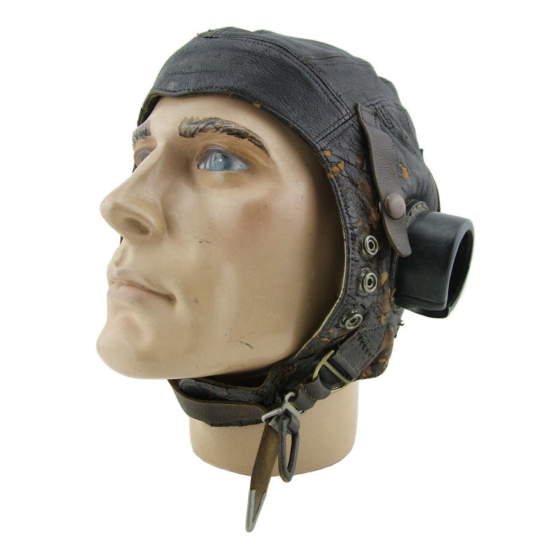 RAF C-type flying helmet, early pattern