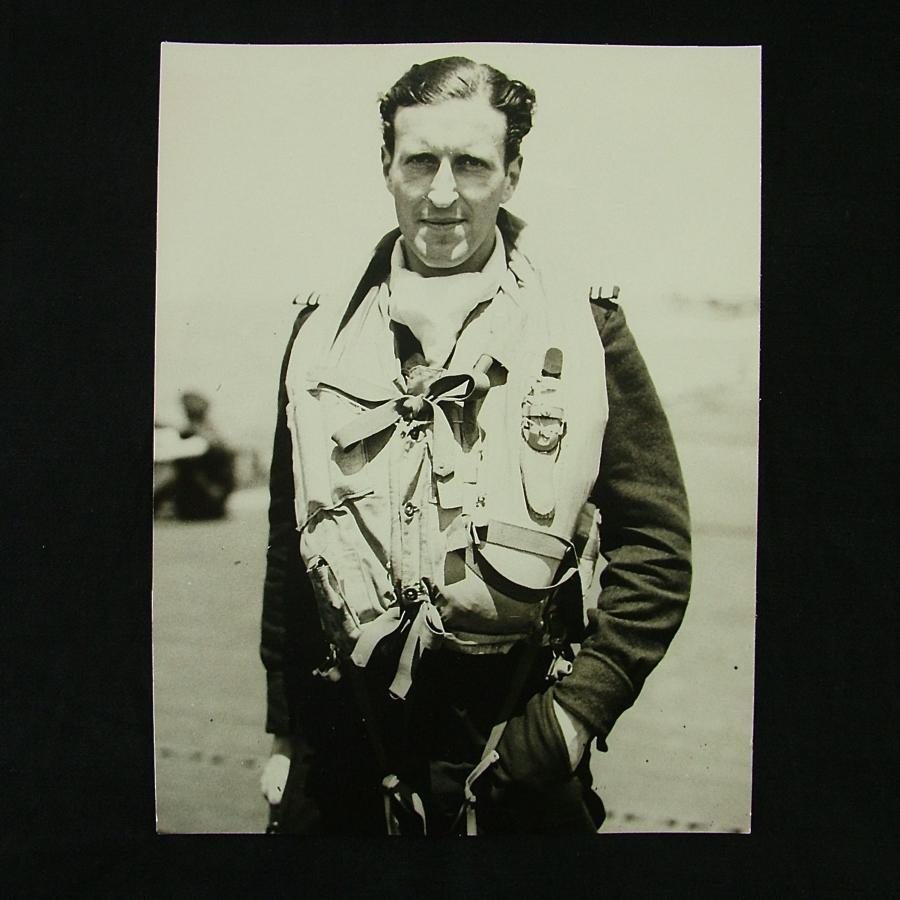 Press photo - FAA fighter pilot, 1944