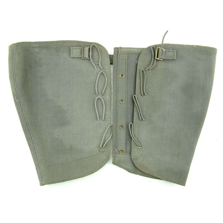 RAF Gaiters, 1938 dated