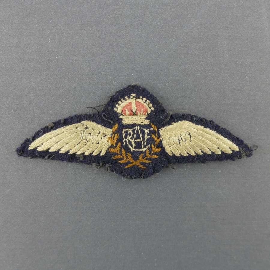 RCAF pilot wing