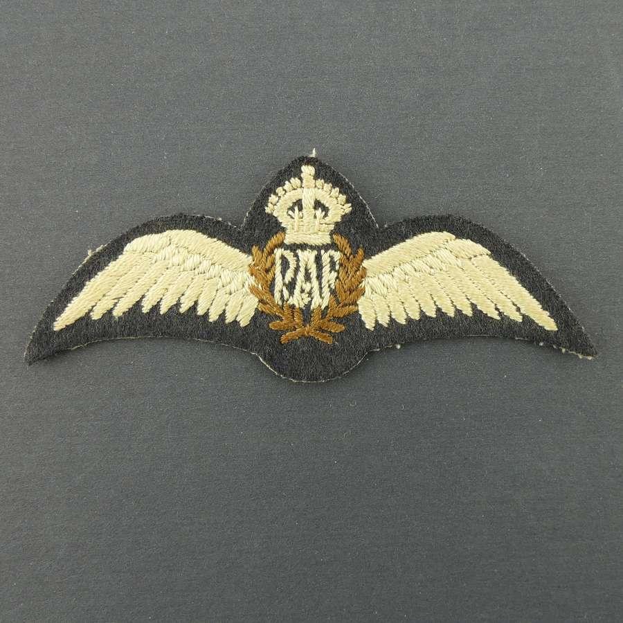 RAF pilot wing (44 Squadron history)