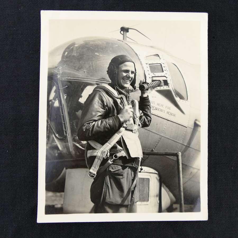 Photo - 8th AAF airman, Suffolk
