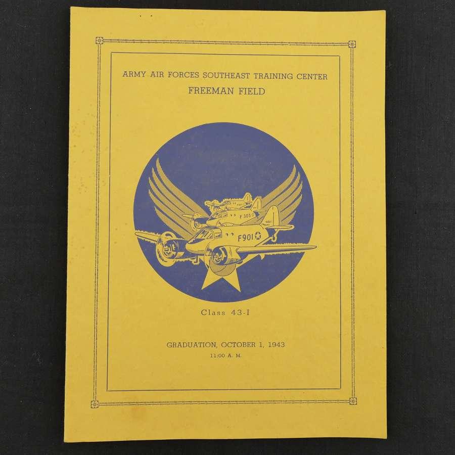 USAAF Southeast Training Centre Graduation programme - history