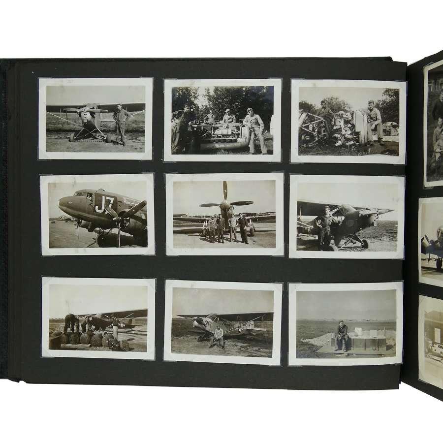 USAAF 9th AAF photograph album