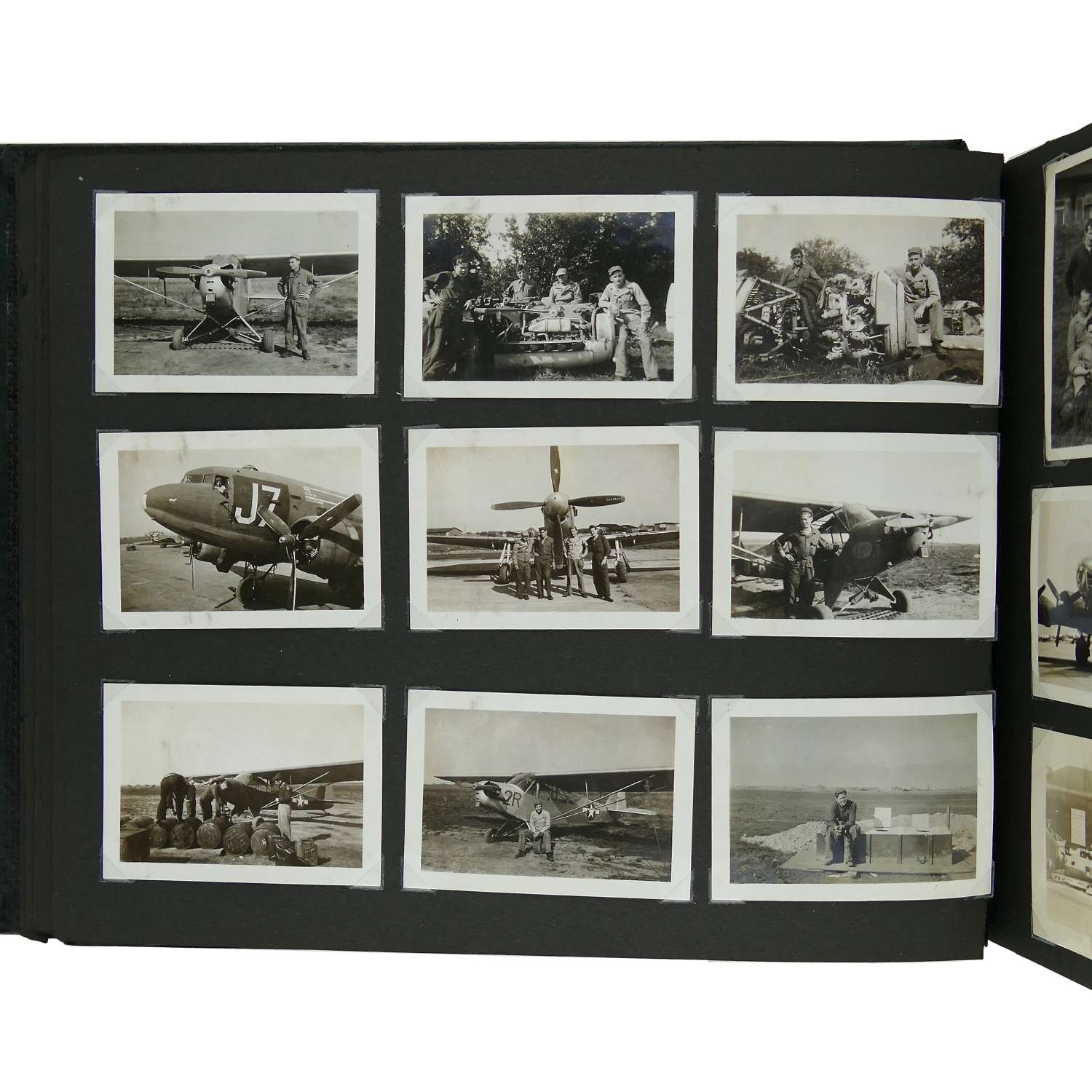 USAAF 9th AAF photograph album