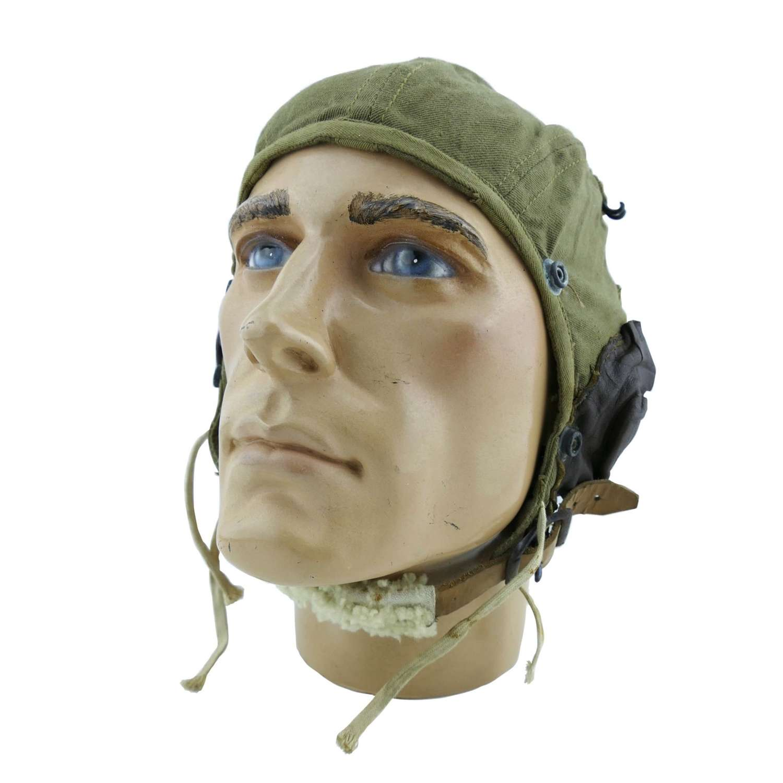 USAAF A-9 summer flying helmet