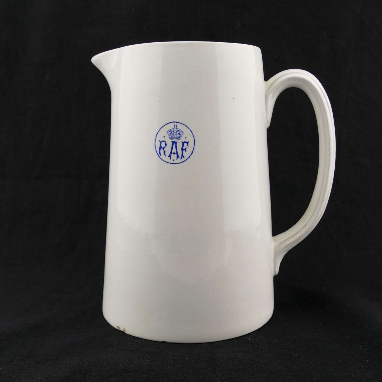 RAF milk jug