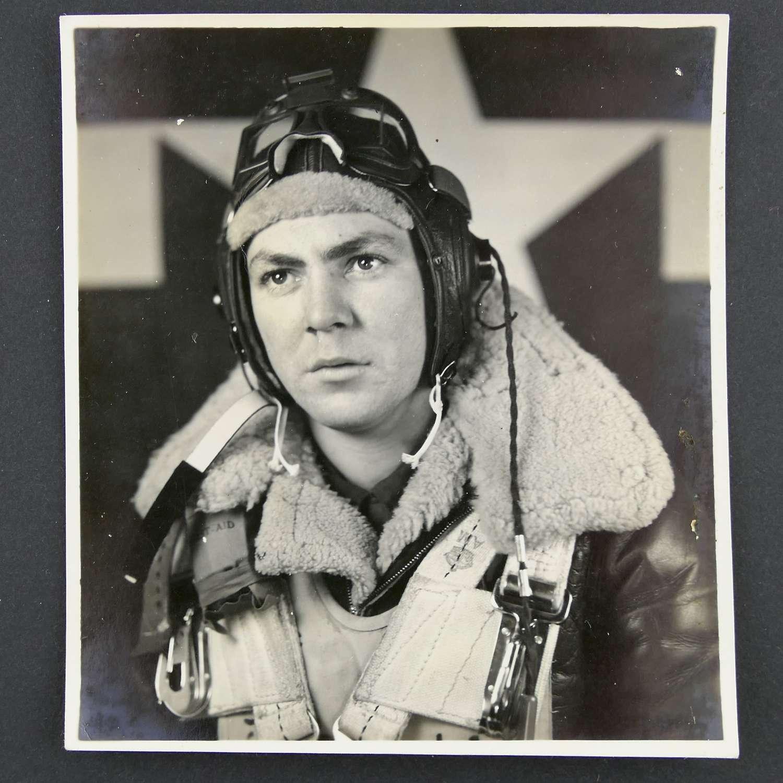 USAAF 401st BG aircrew photograph