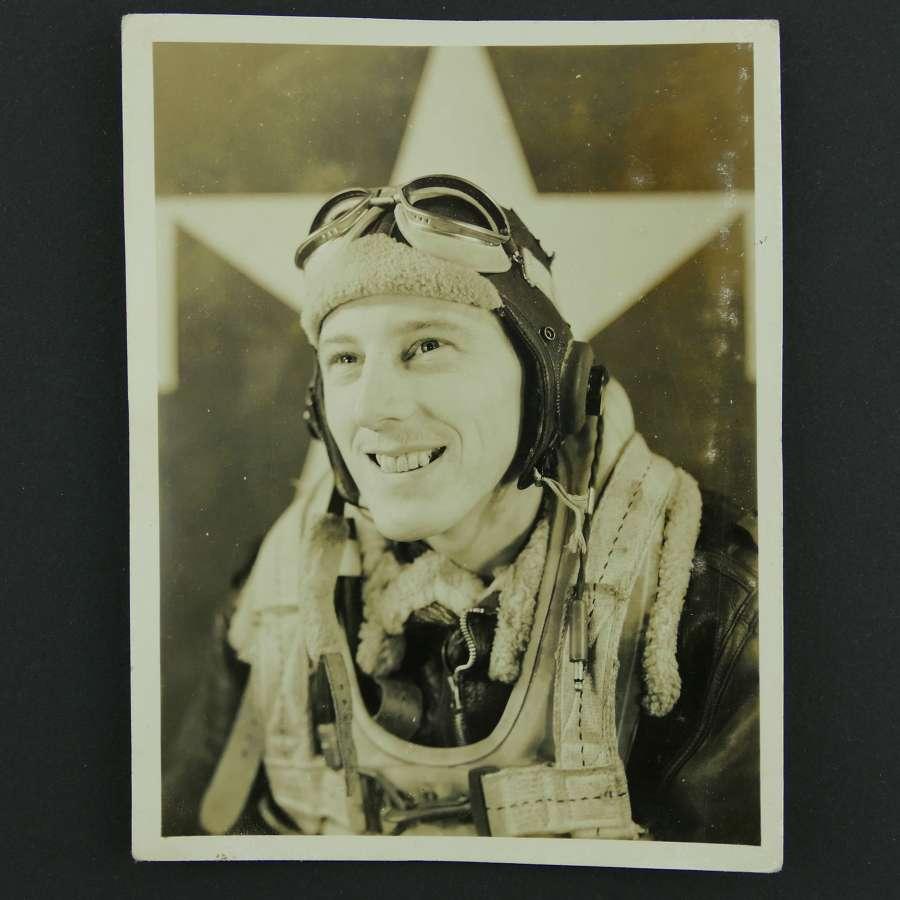 USAAF aircrew photograph