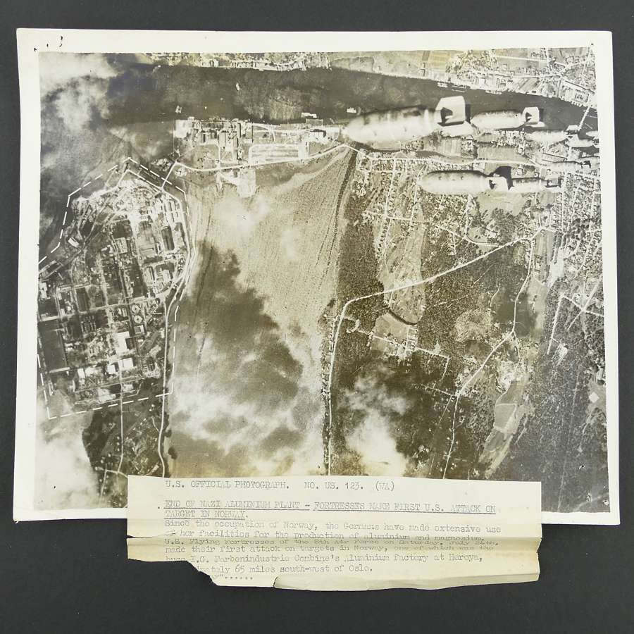 US Official photograph - Bombs Away...