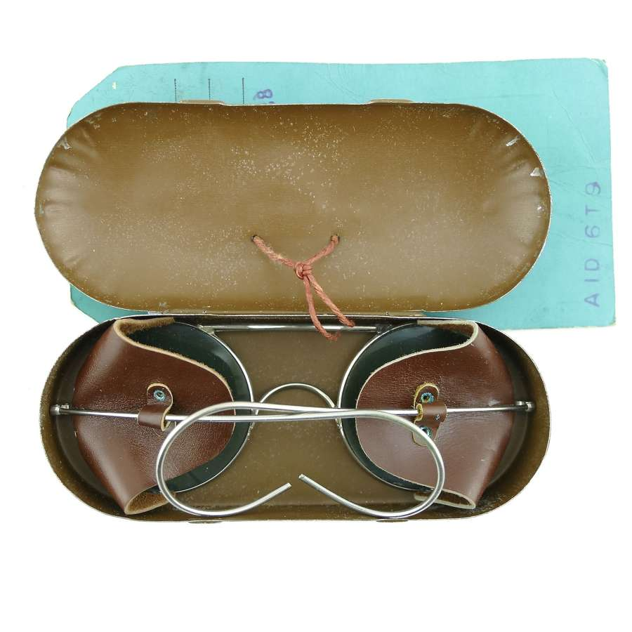 RAF spectacles, anti-glare, type E1 - sealed pattern
