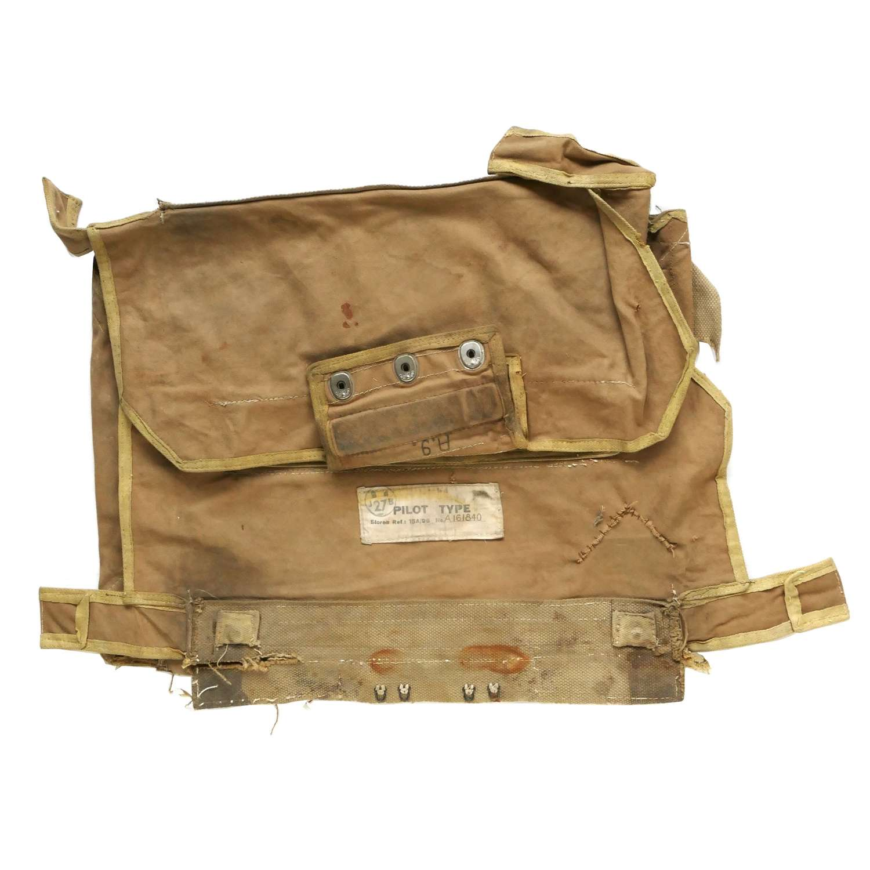 RAF seat type parachute pack