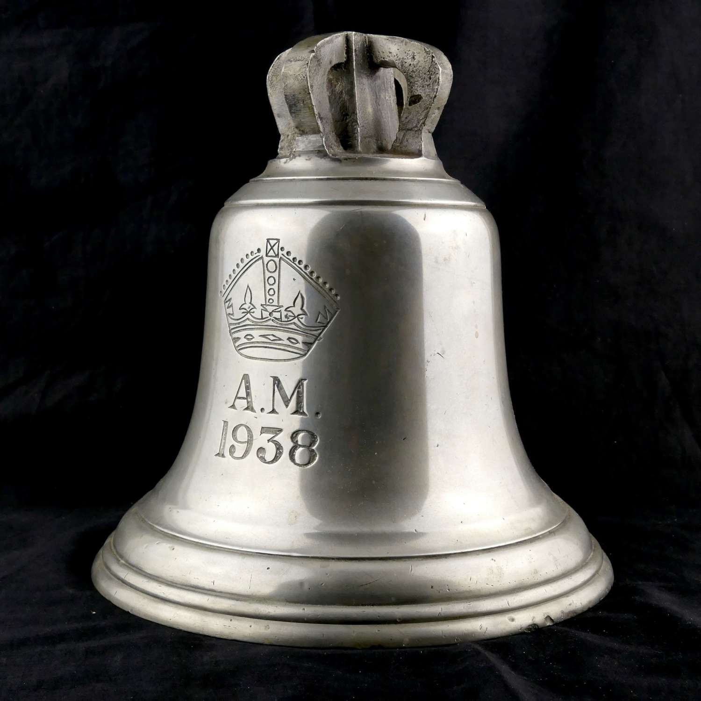 RAF station 'scramble' bell, 1938