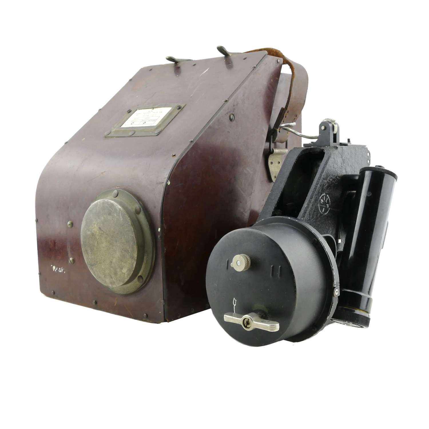 RAF Mk.IX BM bubble sextant, cased