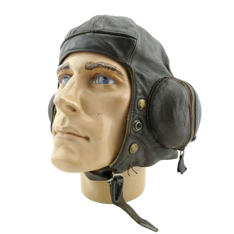 RAF type B flying helmet, 1940, modified