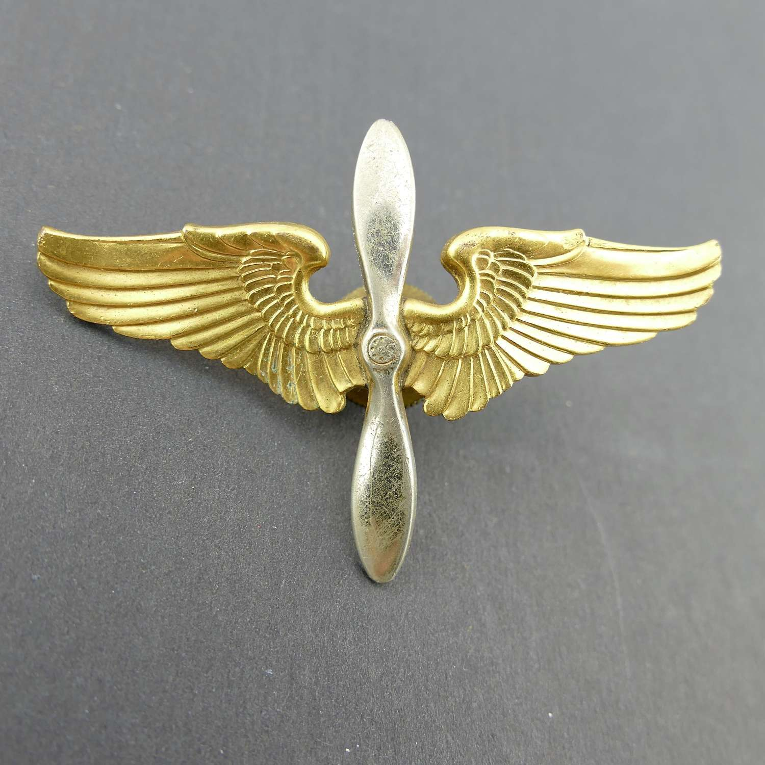 USAAF cadet cap badge
