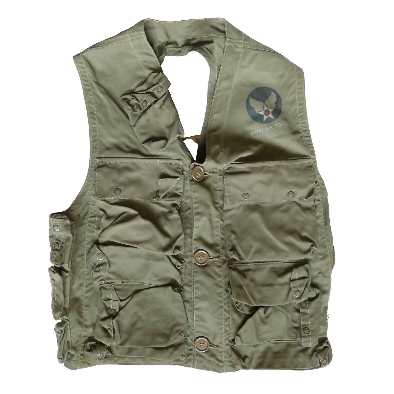 USAAF vest, emergency sustanance, type C-1