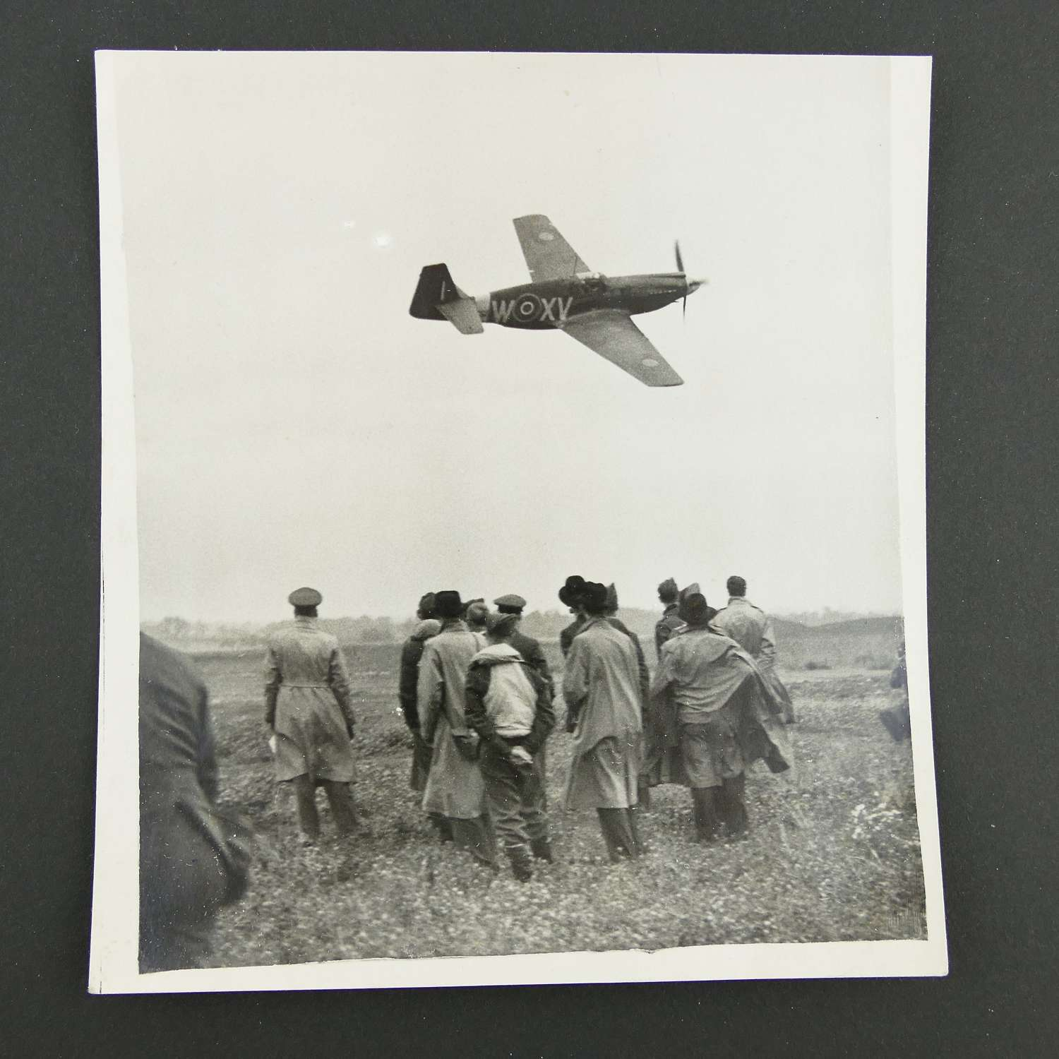 Press photo - Mustangs assist Fighter Command