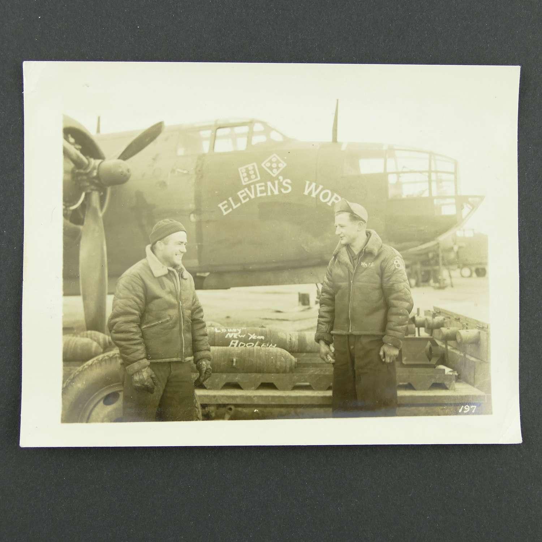 Original photo - 47th bombardment group nose art