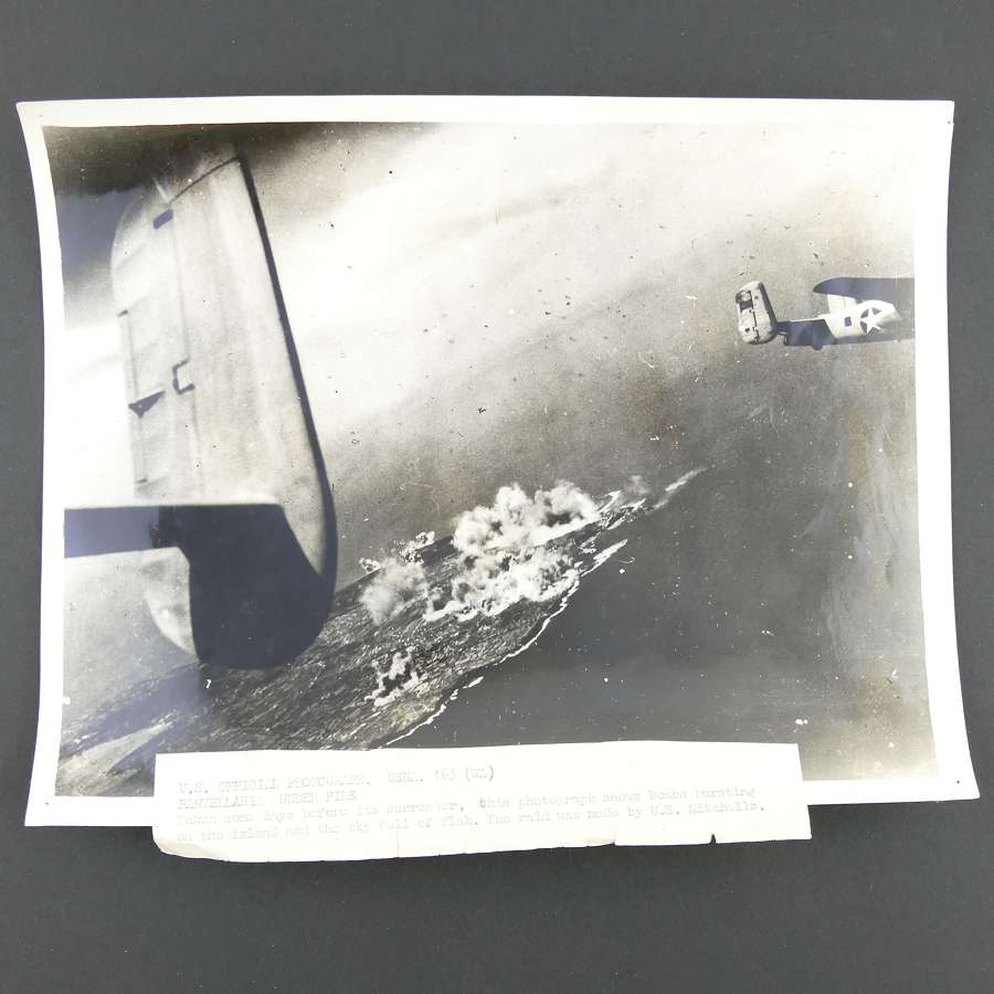 US Official photograph - An attack by US Liberators