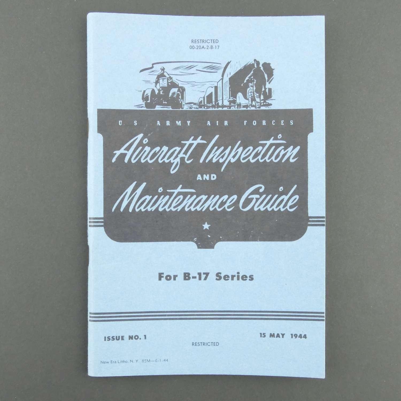 USAAF Aircraft Inspection & Maintenance Guide, B-17, 1944