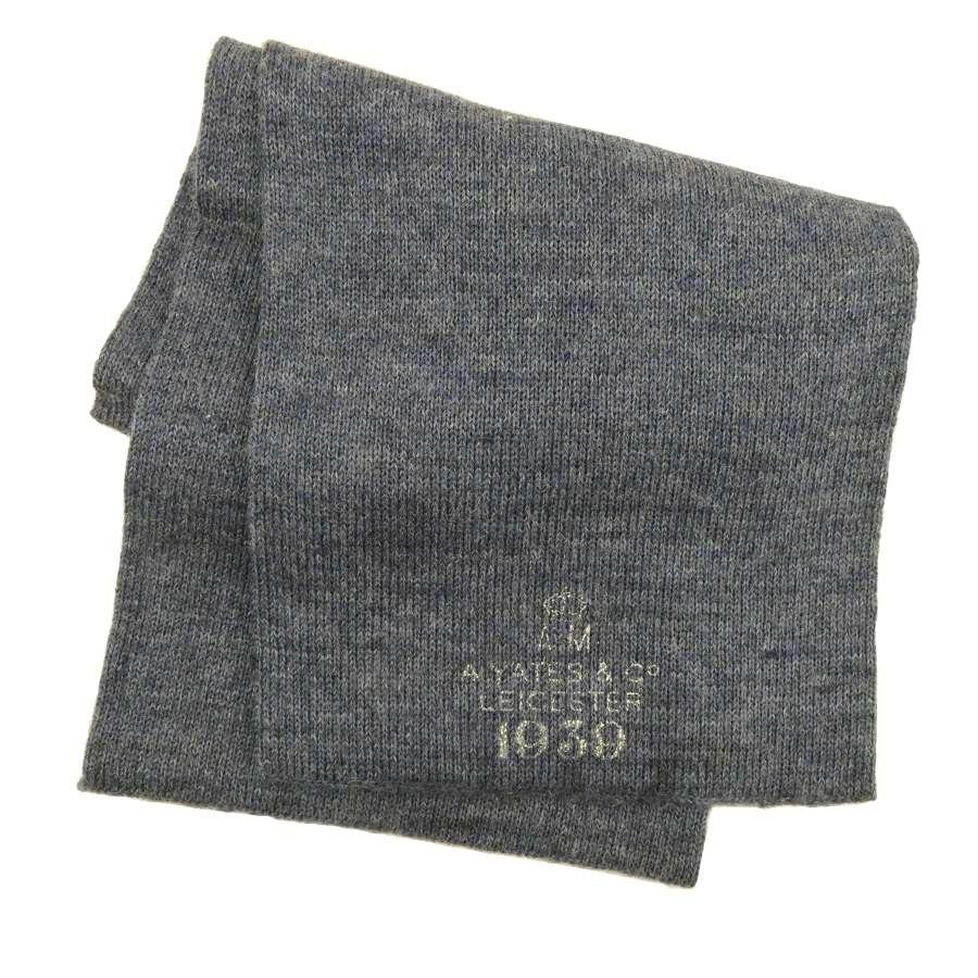 RAF woollen scarf, 1939