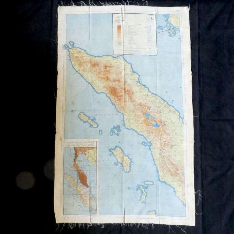 RAF escape & evasion map, Sheet 44E/F
