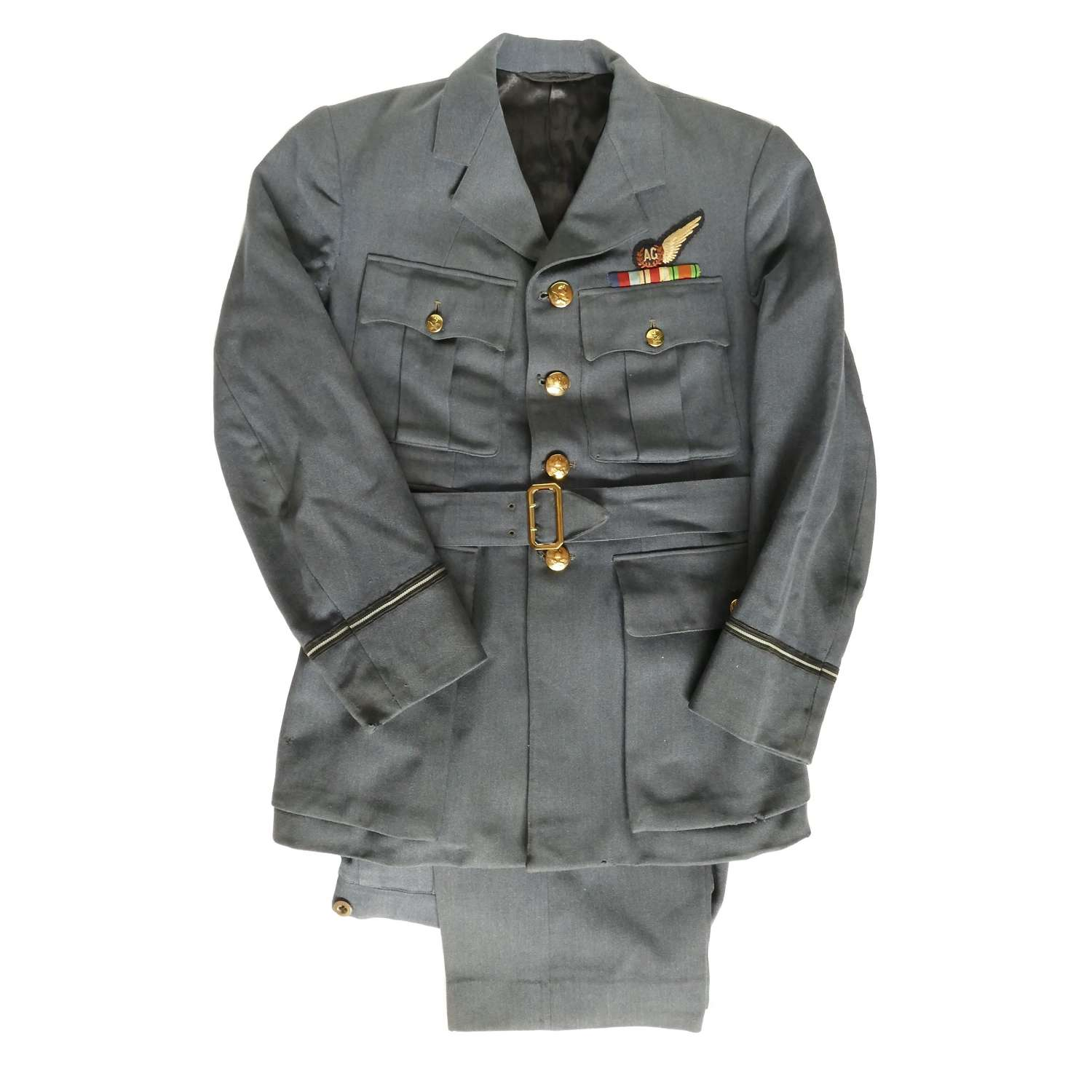 RAF airgunner's tunic/trousers - history