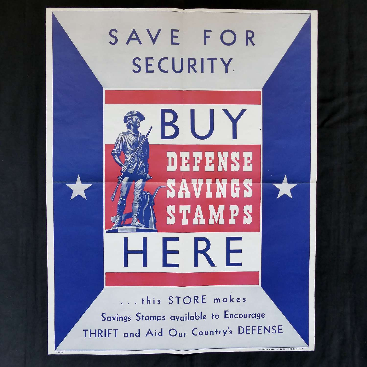 WW2 American savings poster