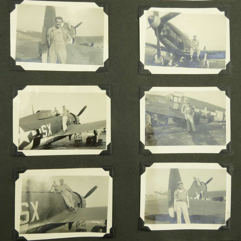 USAAF 8th AAF photograph album - J.J. Hamad