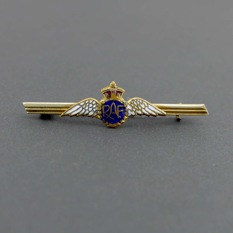 RAF tie pin