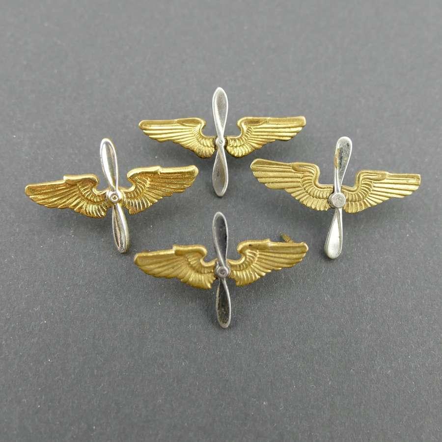 USAAF collar insignia