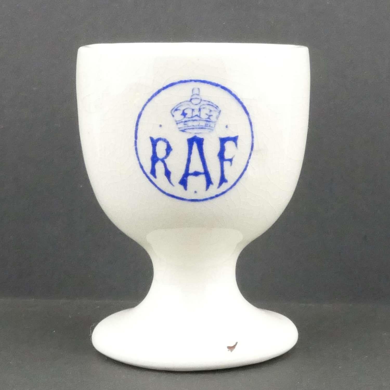 RAF station other ranks egg cup