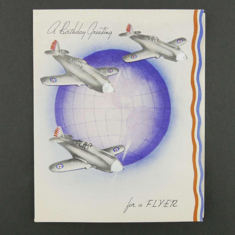 USAAC birthday card
