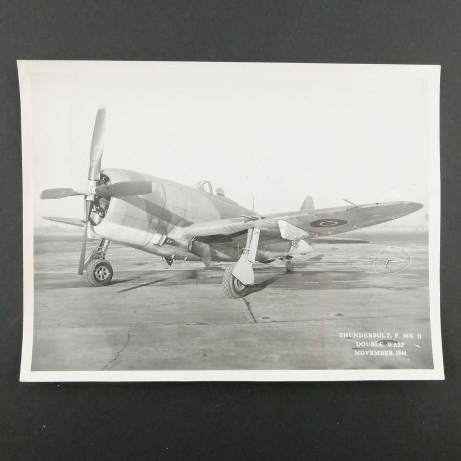 Official photo - Thunderbolt F. Mk.II, 1944