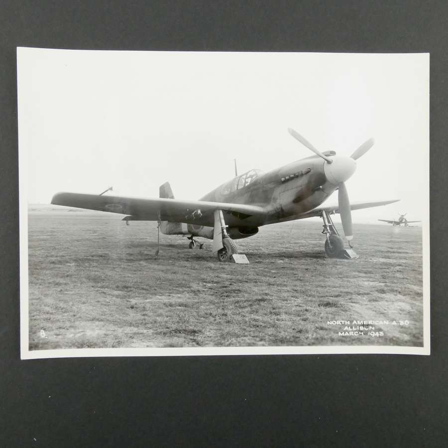 Official photograph - North American A-36, 1943