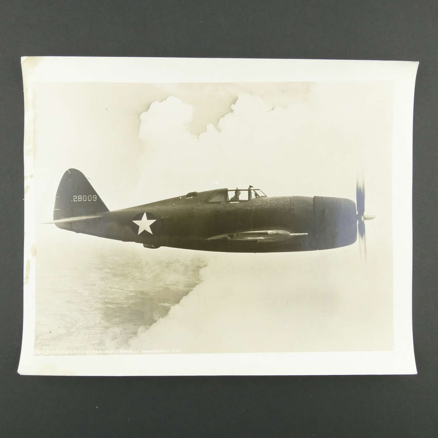 Original photograph - P-47 Thunderbolt #1
