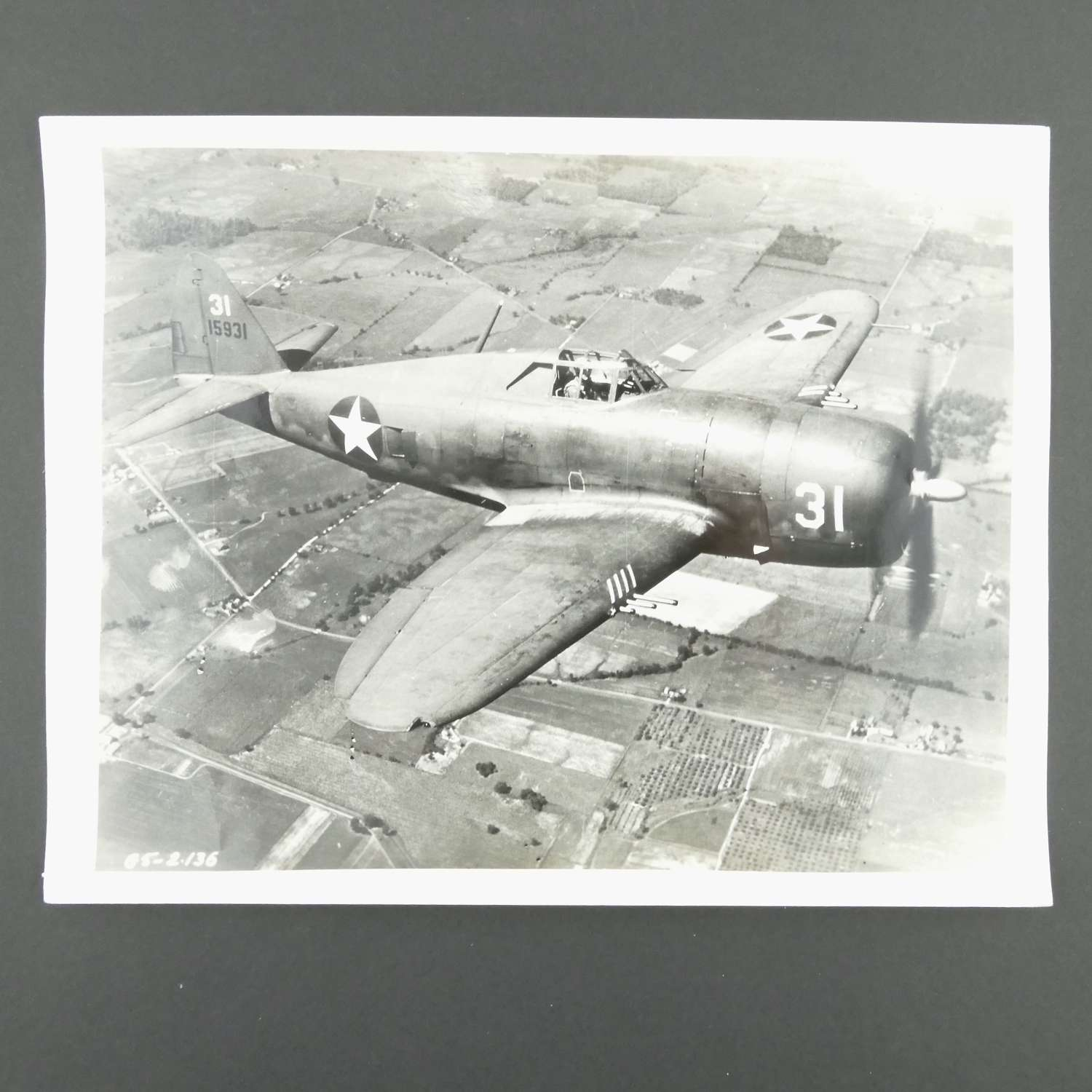 Original photograph - P-47 Thunderbolt #2