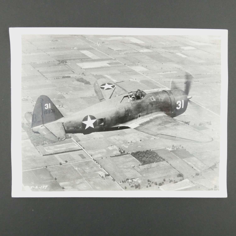 Original photograph - P-47 Thunderbolt  #3