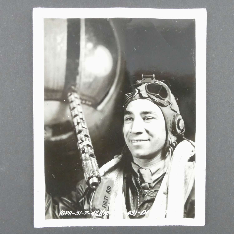 USAAF aircrew photograph - 322nd bomb group