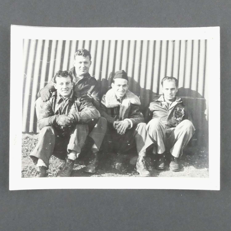Original photograph - 449 bombardment squadron crew