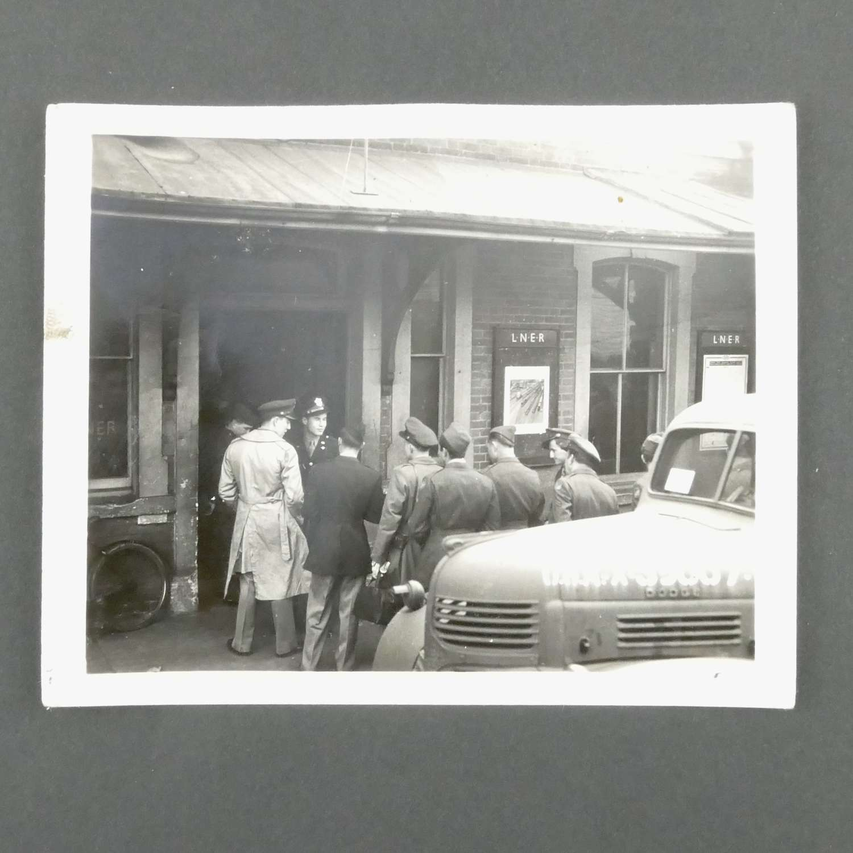 Original photograph - USAAF personnel