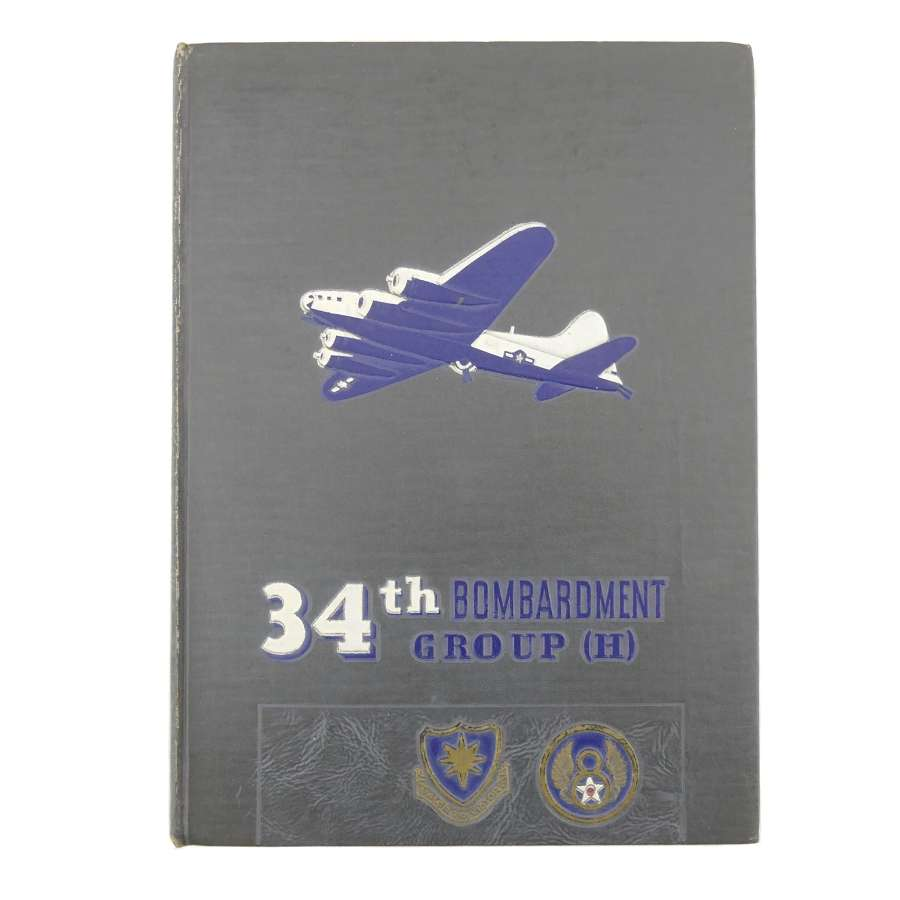 USAAF 34th Bombardment Group (H) history