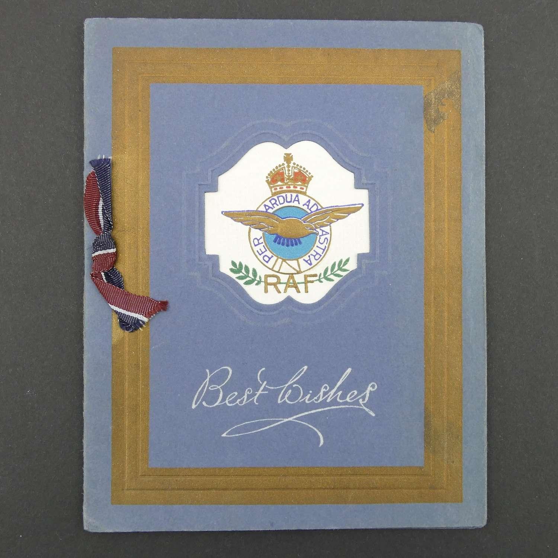 RAF Christmas card